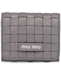 Miu Miu - 三つ折り財布 - Lyst