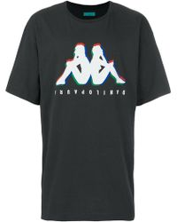 Paura - Logo Print T-shirt - Lyst