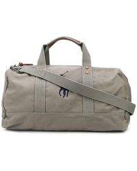Polo Ralph Lauren Embroidered Logo Cotton Holdall - Grey