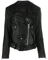 AllSaints ライダースジャケット - ブラック