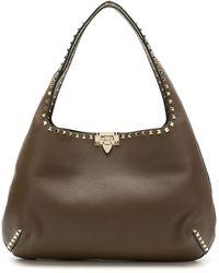 Valentino Garavani Vw2b0i24vsf 3sm Furs & Skins->leather - ブラウン