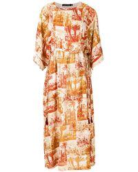 Andrea Marques チュニックドレス - オレンジ