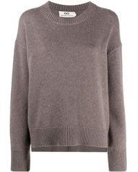 SMINFINITY Relaxed Knit Sweater - Gray