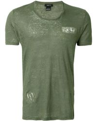 Avant Toi - Short-sleeve Fitted T-shirt - Lyst