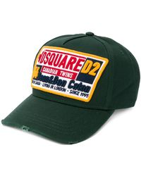 1fe6d98ce DSquared² Canadian Brothers Cap in Red for Men - Lyst