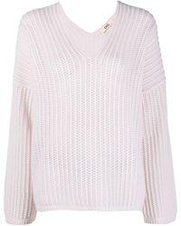 SMINFINITY カシミア セーター - ピンク