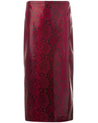 Rochas - Fitted Skirt - Lyst