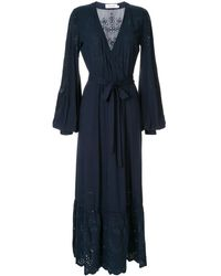 The Upside - Kate Broderie Wrap Dress - Lyst
