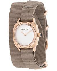 Briston Clubmaster Watch - White