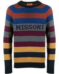Missoni - ロゴストライプ セーター - Lyst