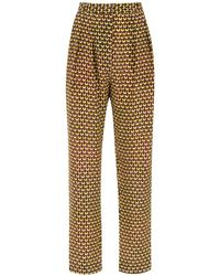 Andrea Marques Tapered Trousers - Multicolour