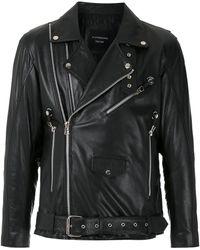 À La Garçonne ライダースジャケット - ブラック