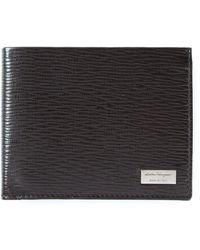 Ferragamo Классический Бумажник - Черный