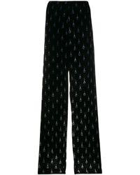 Balenciaga Pyjama Bottom Trousers - Black