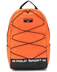 Ralph Lauren Polo Sport Backpack - Orange