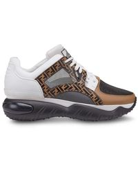 Fendi - Chunky Monogram Runner Sneakers - Lyst