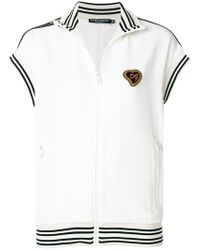 Dolce & Gabbana - Sacred Heart Zip Top - Lyst