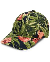 c83044b7709 Universal Works Floral Bucket Hat in Blue for Men - Lyst