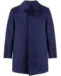 Mackintosh Пальто Cambridge Raintec - Синий