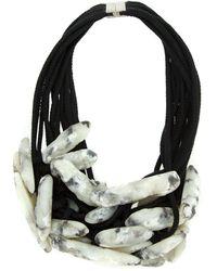 UMA | Raquel Davidowicz Volume Necklace - White
