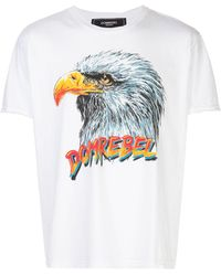 DOMREBEL - Fly プリント Tシャツ - Lyst