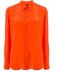 Ralph Lauren Collection - ポインテッドカラー シルクシャツ - Lyst