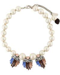 Rada' - Fringed Detail Short Necklace - Lyst