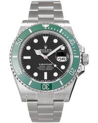 Rolex Наручные Часы Submariner Date Pre-owned 41 Мм 2020-го Года - Черный