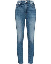 PAIGE Sarah Slim-leg Jeans - Blue