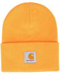 Carhartt WIP ロゴパッチ ビーニー - オレンジ
