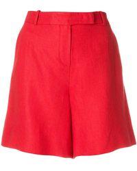 Loro Piana - Front Zip Flat Front Shorts - Lyst