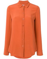 Equipment - Button Up Blouse - Lyst