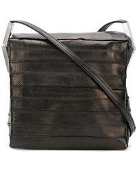 Rick Owens - Textured Shoulder Bag - Lyst