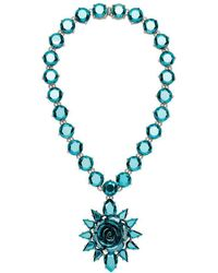 Prada - Rose Jewels Necklace - Lyst