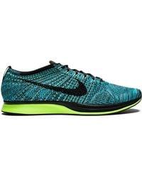 Nike Flyknit Racer 'blue Lagoon' Shoes