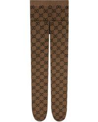 Gucci Collant con motivo GG - Multicolore