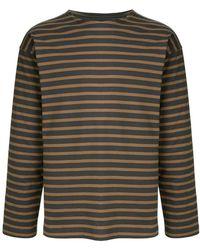 788dd7c14bc Margaret Howell - Striped T-shirt - Lyst