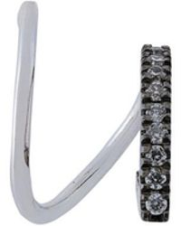 Maria Black - Bela Mono Diamond Earring (right) - Lyst