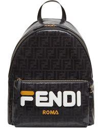Fendi - Mania Logo Backpack - Lyst
