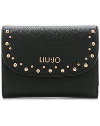 Liu Jo - Studded Wallet - Lyst
