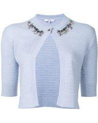 Erdem - Embellished Collar Cardigan - Lyst