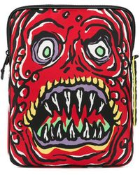 Moschino Monster Laptop Case - Red