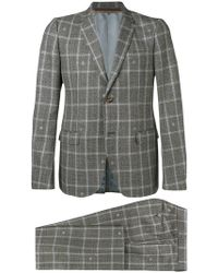 Gucci - Two-piece Check Suit - Lyst