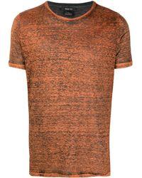 Avant Toi ラウンドネック Tシャツ - ブラウン