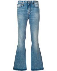 R13 ストレートジーンズ - ブルー
