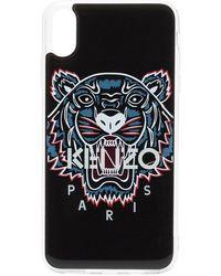 KENZO Coque d'iPhone XS Max Tiger - Noir