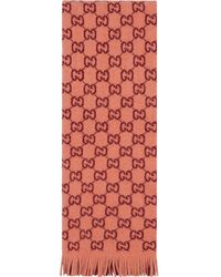 Gucci - GGジャカード スカーフ - Lyst