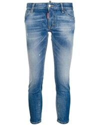 DSquared² - Cropped twiggy Jeans - Lyst