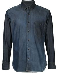 Cerruti 1881 クラシックシャツ - ブルー