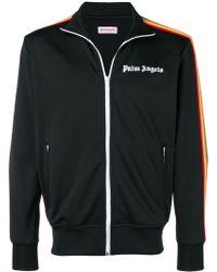 Palm Angels - Jacke mit dekorativen Streifen - Lyst
